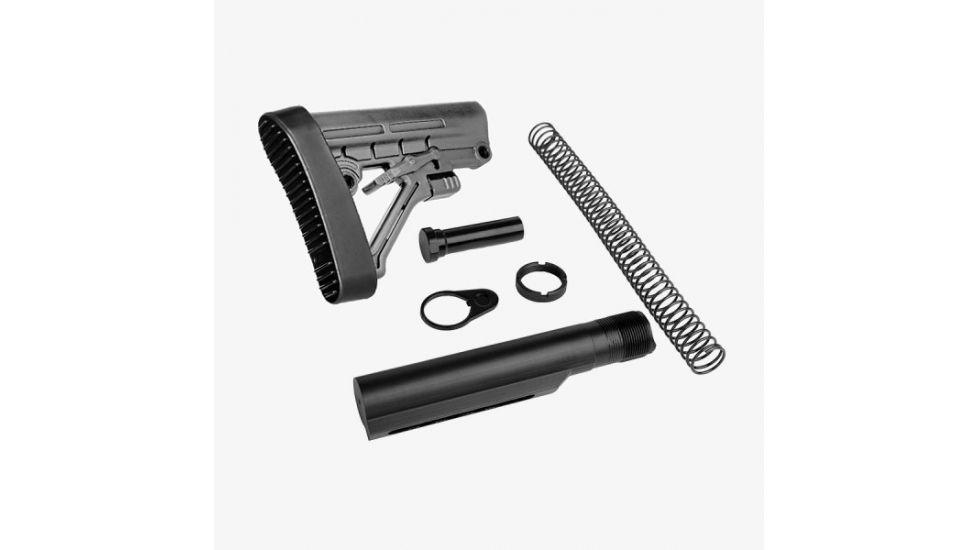 Stealth Grey Omega Mil-Spec Stock Assembly Kit-img-0