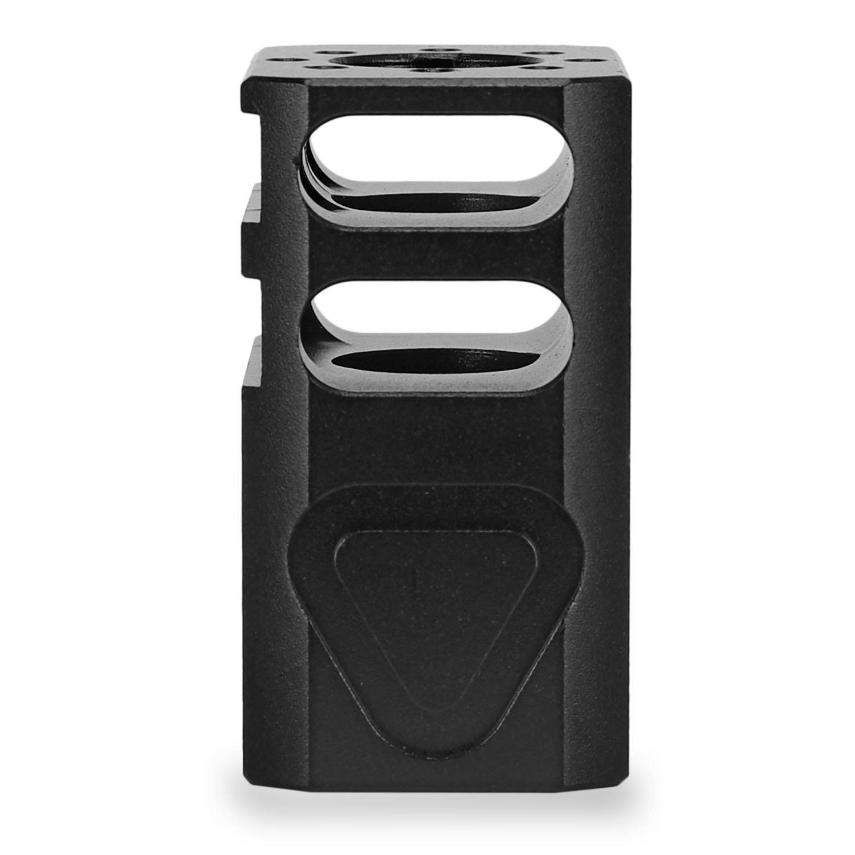 Black 9mm Glock 19 Pistol Micro Compensator Comp Muzzle Brake