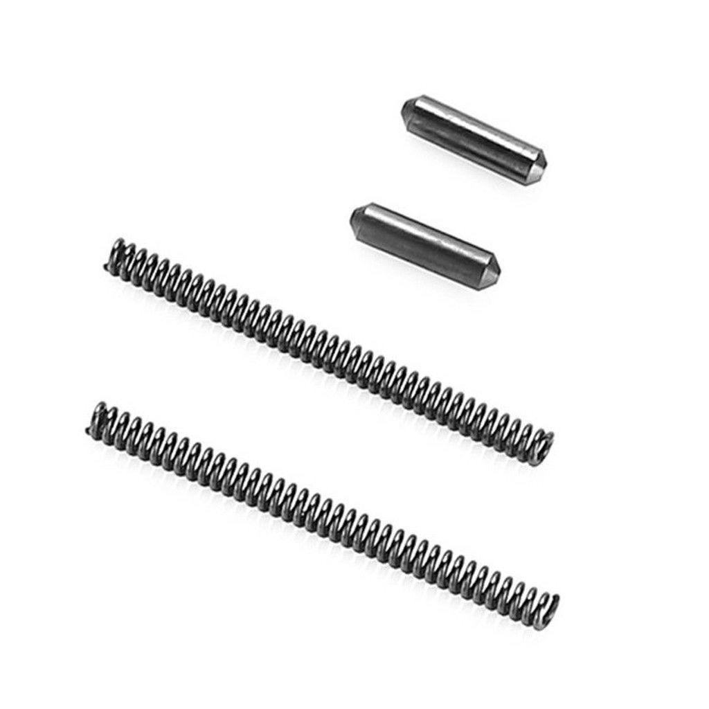 Takedown Pivot Pins with Spings and Detents