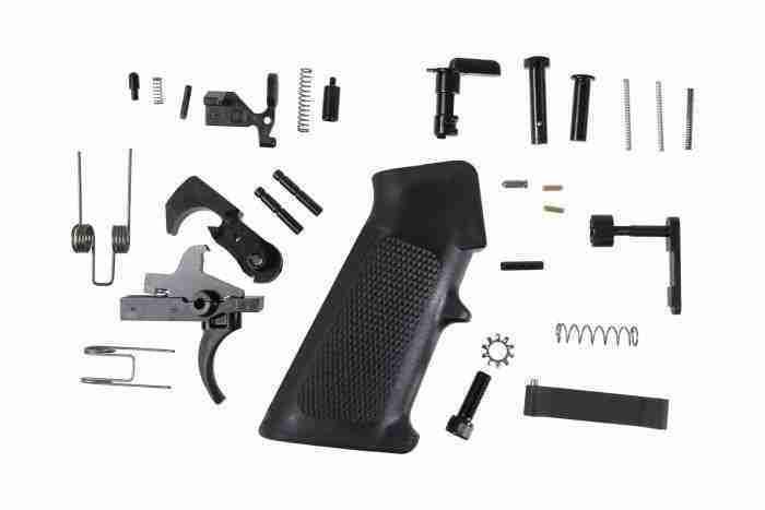 Anderson Mil-Spec Lower Parts Kit LPK - Bulk Pack-img-0