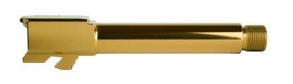 Gold Nitride Glock 19 Threaded Barrel