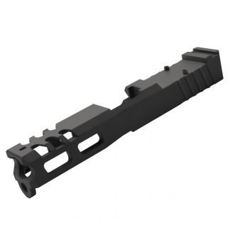 Black Custom RMR Cut Glock 19 Slide