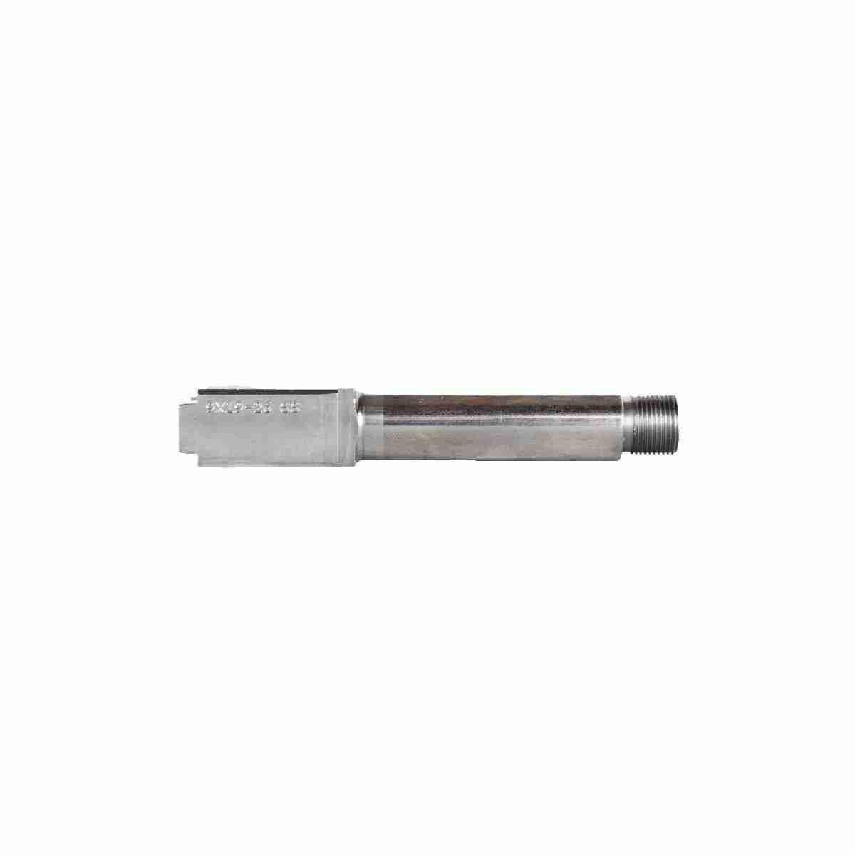 Glock 26 Stainless Steel Threaded Barrel