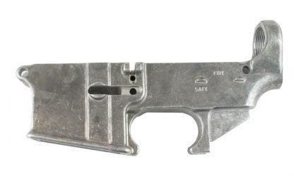 80% AR-15 Un-anodized lower receiver