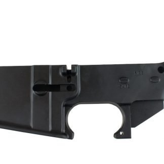 80% AR-15 Black Anodized Lower Receiver
