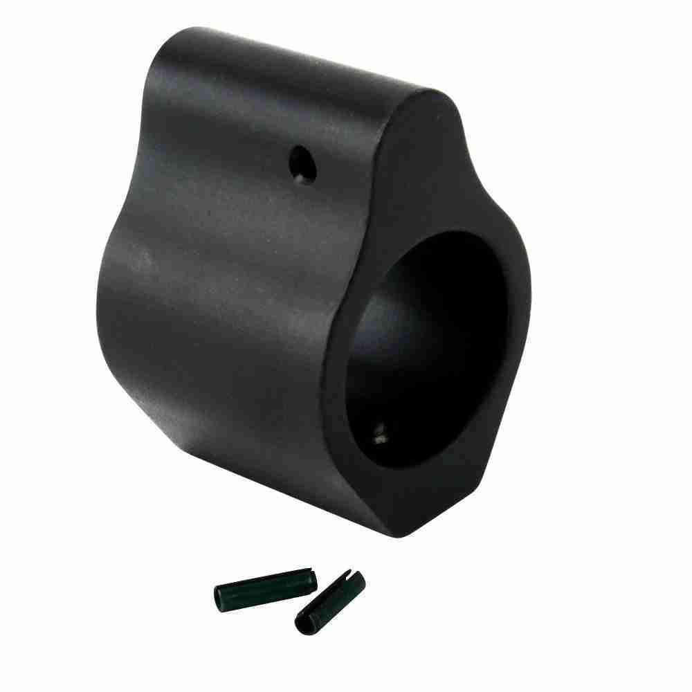 .750 Aluminum Low Profile Gas Block