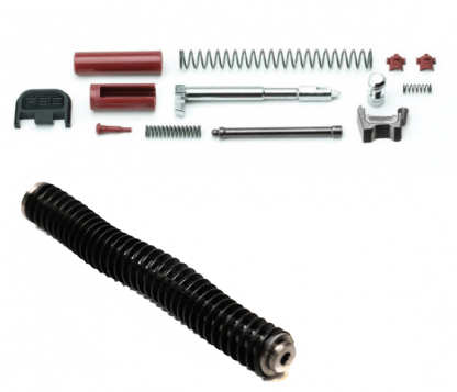 Polymer80 Slide completion kit with recoil rod