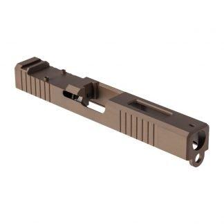 Glock 19 RMR Slide with Window FDE PVD