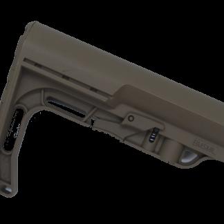 FDE Minimalist AR-15 butt stock